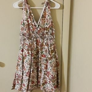 Modcloth floral dress with pockets